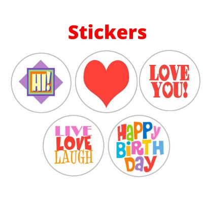 Confetti Stickers 6